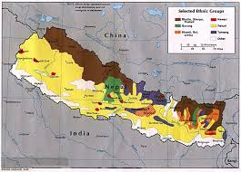 Map Of Nepal And Surrounding Countries by Maps Of Nepal Revolution In South Asia