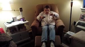 mom u0027s oakwood recliner youtube