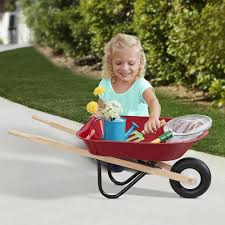 Radio Flyer Push Buggy Radio Flyer Kids Wheelbarrow Ride On Amazon Ca Toys U0026 Games