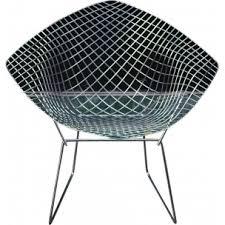 Diamond Armchair Vintage Armchair In Blue Fabric Produced By Knoll Antimott 1960s
