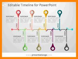 Resume Timeline Template 9 2017 Timeline Template Resume Sections
