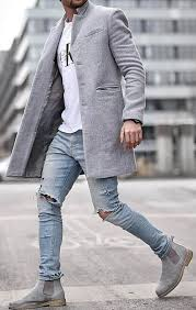 light grey suede boots grey suede chelsea boots men s fashion