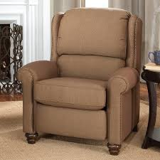 small wingback recliner chair furniture decor trend leather