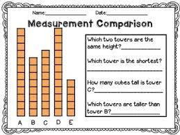 measurement worksheets using non standard units by j parkhurst tpt
