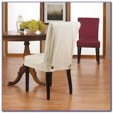 Dining Chair Short Slipcovers Dining Chair Slipcovers Amazon Chairs Home Decorating Ideas