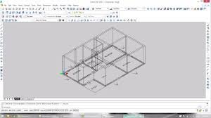complete 2d and 3d plan of a low cost residential building auto
