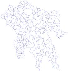 Greece Map Blank by Peloponnese Municipalities1 U2022 Mapsof Net