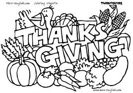 coloring pages thanksgiving dinner turkey free for kindergarten