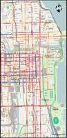 San Francisco Tram Map by Chicago 1951
