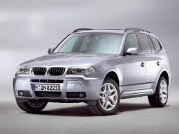 automotive database bmw x3 e83