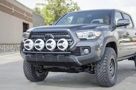 2016 tacoma roof light bar n fab front off road light bar with tabs for 2016 tacoma gloss