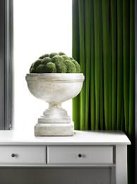 Moss Green Curtains I The Mix Of Green Curtains And Faux Moss Great Way Of