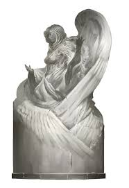 God Statue Kekai Kotaki Dwayna God Statue Concept Kekai Kotaki
