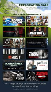 best games on steam black friday deals news day 3 of the steam exploration sale