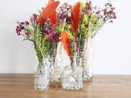 Drawings Of Flowers In A Vase Mason Jar Crafts How To Draw On A Mason Jar Hgtv