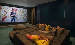 Home Cinema Design And Installation Cyberhomes - Home cinema design