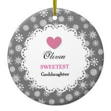 best goddaughter ornaments keepsake ornaments zazzle