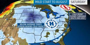 august 2017 cold temperatures august weather forecast
