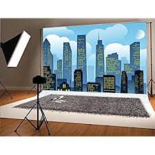city backdrop city design a room background photo