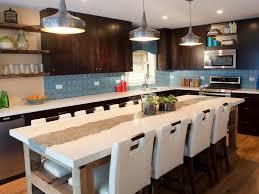 kitchen island ideas pinterest glass mosaic backsplash in kitchen