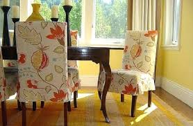 dining room chair seat slipcovers diy dining room chair covers slipcover chair pad idea excellent