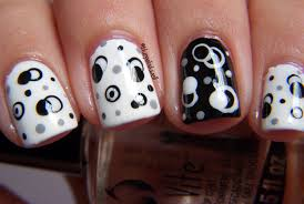 31 black and white nail design 50 incredible black and white nail