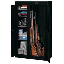Stack On 18 Gun Cabinet by 10 Gun Double Door Security Cabinet