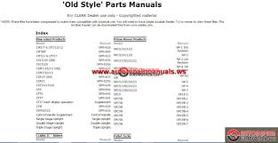 crown forklift parts catalog service manual auto repair manual