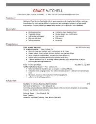 customer service resumes exles resume exles customer service 8 food specialist exle