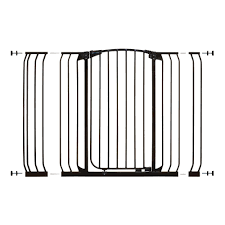 Extra Wide Gate Pressure Mounted Dreambaby Chelsea 40 In H Extra Tall And Extra Wide Auto Close