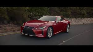 lexus coupe cost lexus lc 2017 tv advert youtube
