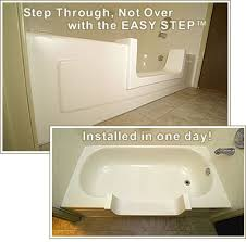 Easy Step Bathtub My Elderly Mother Has Trouble Getting In And Out Of The Tub How