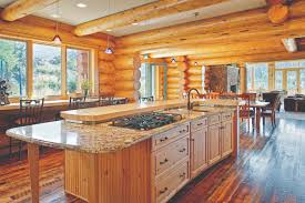 beautiful log home interiors marvellous log home kitchens room ideas kitchens log home
