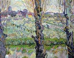 view of arles flowering orchards wikipedia