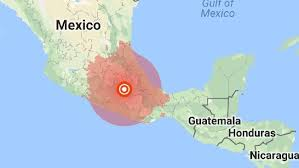 mexico in the world map mexico city earthquake a strong earthquake has hit mexico just