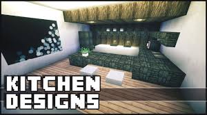 ideas for modern kitchens minecraft kitchen designs u0026 ideas youtube
