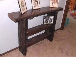 Rustic Hallway Table Recycled Barn Wood Hall Table Very Rustic By Durnik150