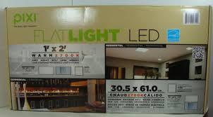 pixi led flat light installation pixi 1ft x 2ft led flat light luminarie flt12r27md1622a ebay