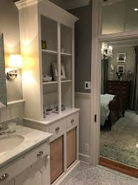 our custom bathroom cabinets are finally complete old town home