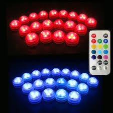 20pcs lot free shpping submersible waterproof led mini lights for