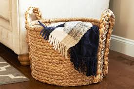 baskets for home decor 23 wicker storage baskets that look like decor 2018