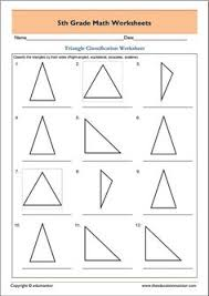 triangle classification based on sides math measurement geometry
