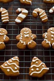 Small batch Gingerbread Cookies With Faux Royal Icing Baking