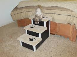 doggie steps for bed assemble wooden dog bed stairs dog bed design ideas