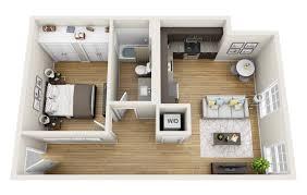 Floor Plan Of 3 Bedroom Flat 19 Floor Plan For One Bedroom Apartment Modern House Floor