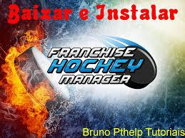 baixar e instalar franchise hockey manager 2 pc 2015 youtube
