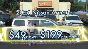 nissan armada for sale by dealer kens wheelers n dealers 06 nissan armada youtube