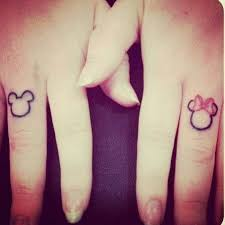 couple tattoo mickey mouse couple tattoos with mickey minnie ink pinterest tattoo