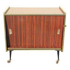 Folding Bar Cabinet Vintage U0026 Used Bar Carts Chairish