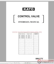 kato nk550vr hydraulic truck crane service manual auto repair